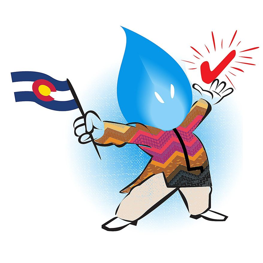 Illustration on potential Hispanic impact on Colorado energy production by Linas Garsys