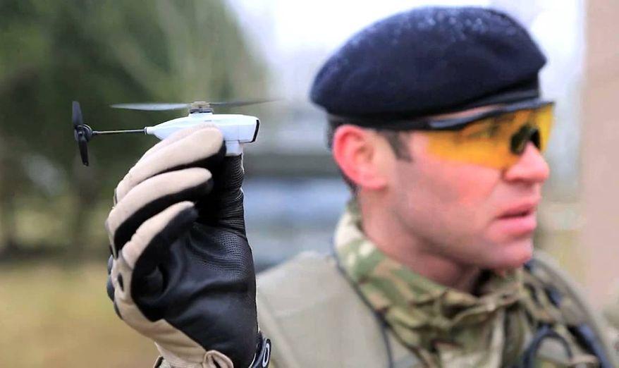 Army to test next generation nano drone PD-100 Black Hornet. Photo via Youtube