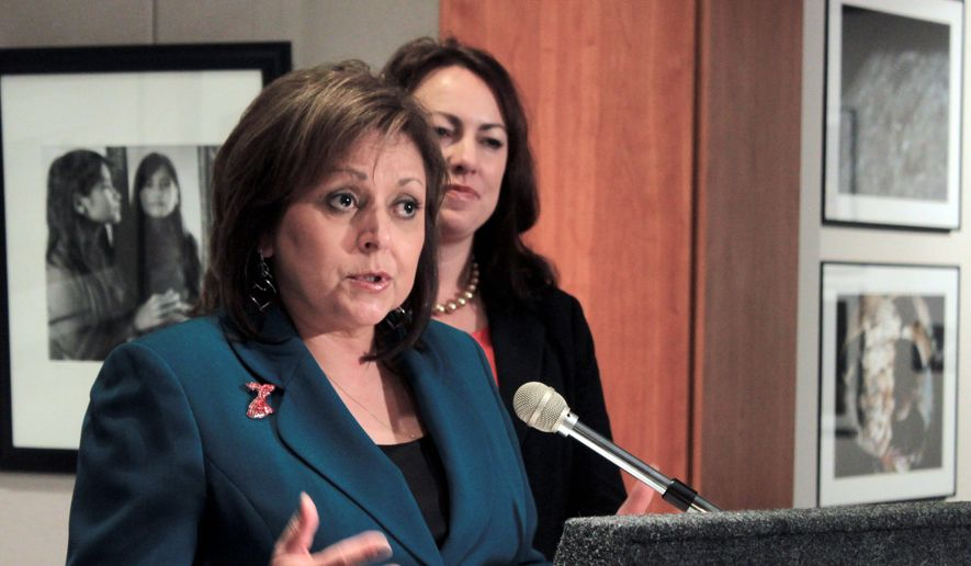 If the GOP is to make greater inroads with Hispanic and female voters, New Mexico Gov. Susana Martinez, a former Democrat, is well-positioned to lead the charge. (Associated Press)