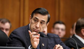 ** FILE ** Rep. Darrell Issa, California Republican. (Associated Press)