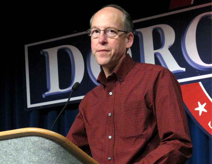 Rep. Greg Walden, Oregon Republican and National Republican Campaign Committee chairman, said he envisions the GOP holding at least 245 seats in the House after November, even the group's Democratic counterpart raised $23 million more this election cycle. (Associated Press)