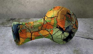 Broken Pottery Illustration by Greg Groesch/The Washington Times