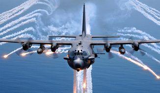** FILE ** AC-130H Spectre. (U.S. Air Force)