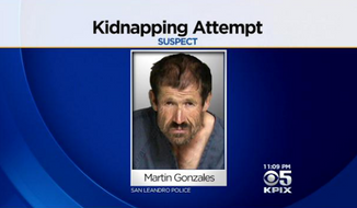 A 11-year-old girl was able to put her self-defense skills to good use Monday when she successfully fought off 54-year-old Martin Gonzalez, who allegedly tried to kidnap her in San Francisco's Bay Area. (CBS San Francisco)