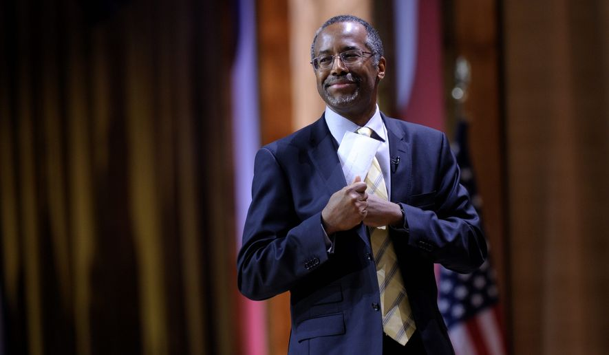 **FILE** Ben S. Carson (Associated Press)