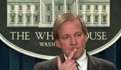 Former Clinton-era press secretary Mike McCurry. (Associated Press photo)