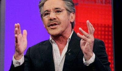 "** FILE ** Fox News Channel commentator Geraldo Rivera speaks on the ""Fox & Friends"" television program in New York on June 25, 2010. (Associated Press)"
