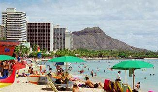 ** FILE ** Waikiki, Hawaii. (Associated Press)