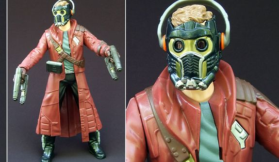 Hasbro's Battle FX Star-Lord  (Photo by Joseph Szadkowski / The Washington Times)