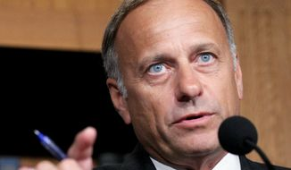 Rep. Steve King, Iowa Republican (Associated Press) **FILE**