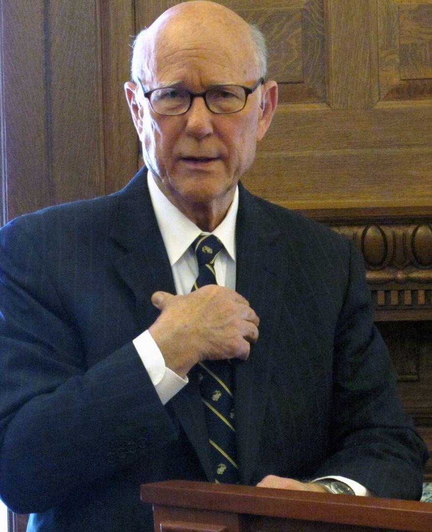 Incumbent Sen. Pat Roberts, a Kansas Republican, has faced a tough race against tea party-backed challenger Milton Wolf. (Associated Press)