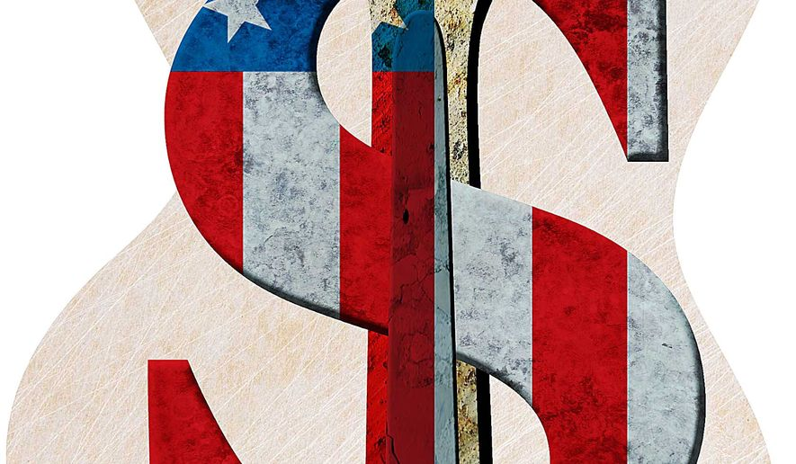 Keeping American Jobs Illustration by Greg Groesch/The Washington Times