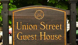 The Union Street Guest House, in Hudson, began fining couples who book their wedding there $500 for every negative review written by one of their guests. (Union Street Guest House)