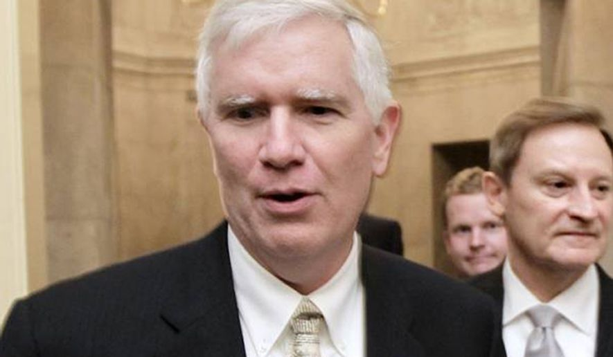 ** FILE ** Congressman Mo Brooks (R-Ala.). (Associated Press)