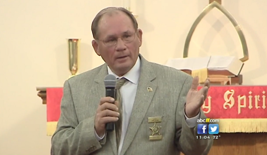 Harnett County Sheriff Larry Rollins told a crowd Monday night at the Spring Hill United Methodist Church that there has been an explosion of violence and crime in the area. (ABC 11)