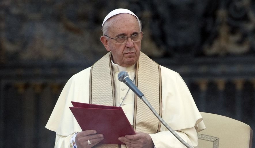 Pope Francis (AP Photo)