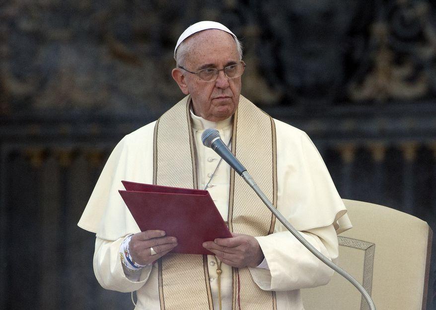 Pope Francis (AP Photo)