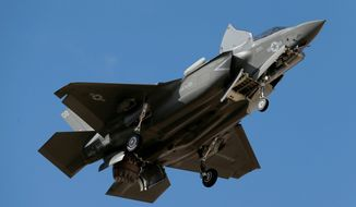 The biggest-ticket items were extra money for aircraft, including additional F-35 fighters for several branches. (AP Photo/Ross D. Franklin)