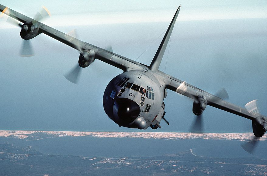 ** FILE **  AC-130A Spectre gunship. (Wikimedia Commons)