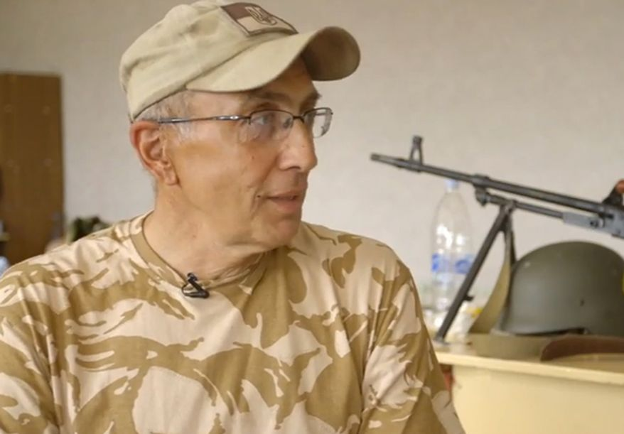 ** FILE ** Mark Paslawsky died Tuesday, Aug. 19, 2014 while fighting with Ukraine's volunteer force in Donbas. (YouTube, Vice News)