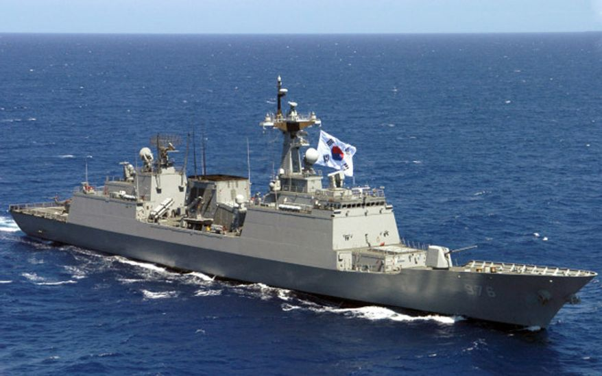 South Korean Navy destroyer Munmu the Great (DDH-976) in 2006. (image: U.S. Navy)