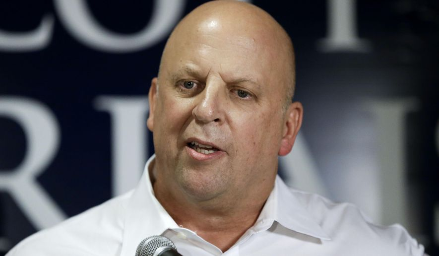 Rep. Scott DesJarlais, Tennessee Republican, on election night. (AP Photo/Mark Humphrey)