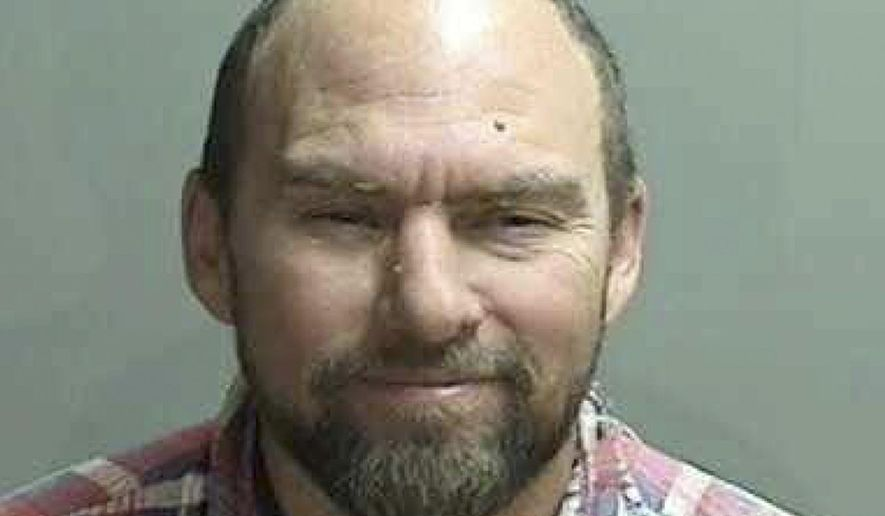 "This undated photo released by the Fresno County Sheriff's Office shows Tye ""Glenn"" Champ. Champ, who ran for governor of California earlier this year, has been arrested on suspicion of shooting his neighbor in the stomach and killing a horse, officials said Friday, Aug. 8, 2014. (AP Photo/Fresno County Sheriff's Office)"