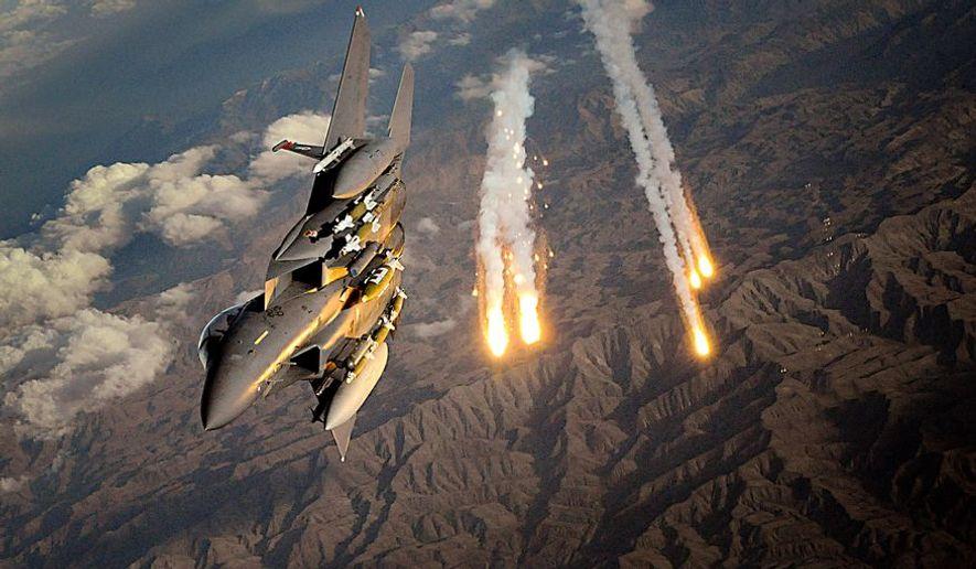 F-15 STRIKE EAGLE. File photo.