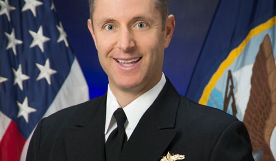 Captain Gregory W. Gombert. (Image: U.S. Navy)