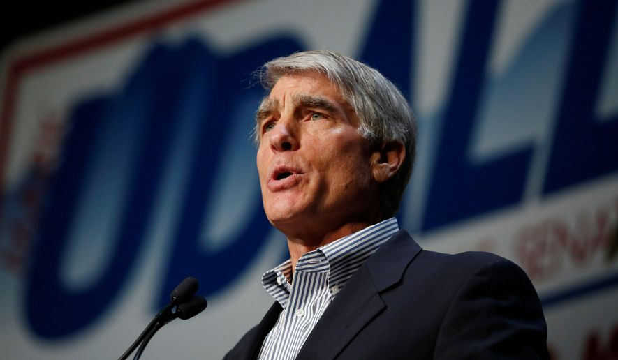 U.S. Sen. Mark Udall, D-Colo. (associated press photographs)
