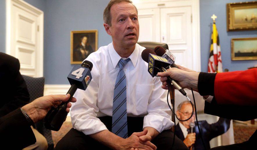 The Firearm Safety Act of 2013, which was proposed Maryland Gov. Martin O'Malley in the wake of a mass shooting in Newtown, Connecticut, and is one of the country's strictest legislative packages for gun control, was upheld by U.S. District Judge Catherine C. Blake in a 47-page opinion issued Tuesday. (Associated Press)