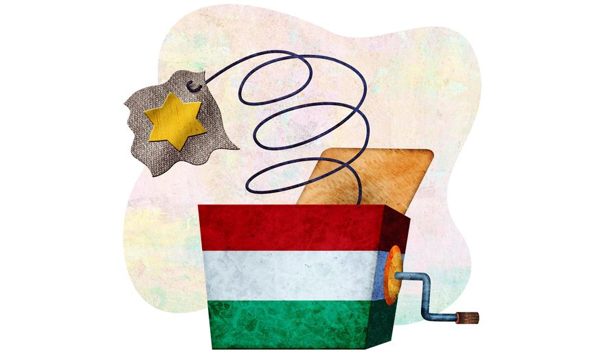 Anti-Semitism in Hungary Illustration by Greg Groesch/The Washington Times