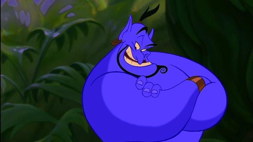 """7. The Genie in 1992's """"Aladdin"""""""