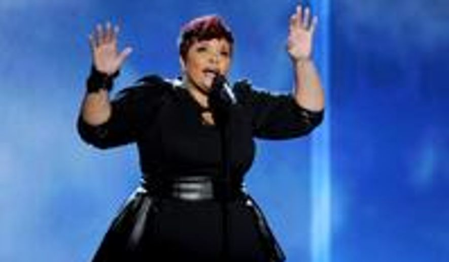Actress and gospel singer Tamela Mann is nominated in the GMA Dove Awards Gospel Performance of the Year category.