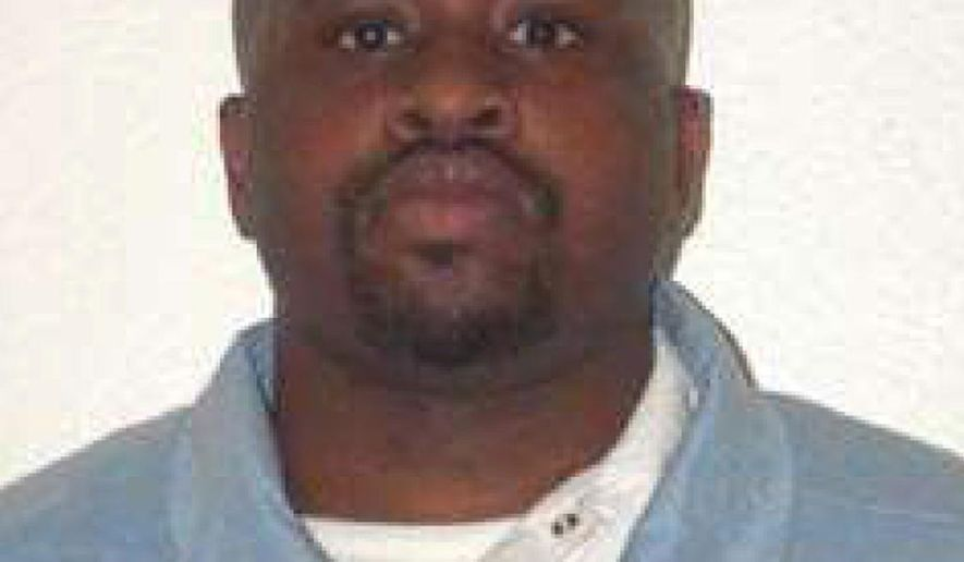 In this photo provided by the Iowa Department of Corrections is Michael Williams-El. A federal judge says Williams-El must be provided nightly meals and chapel time during Ramadan and allowed the same religious accommodations as other Muslims. (AP Photo/The Iowa Department of Corrections)