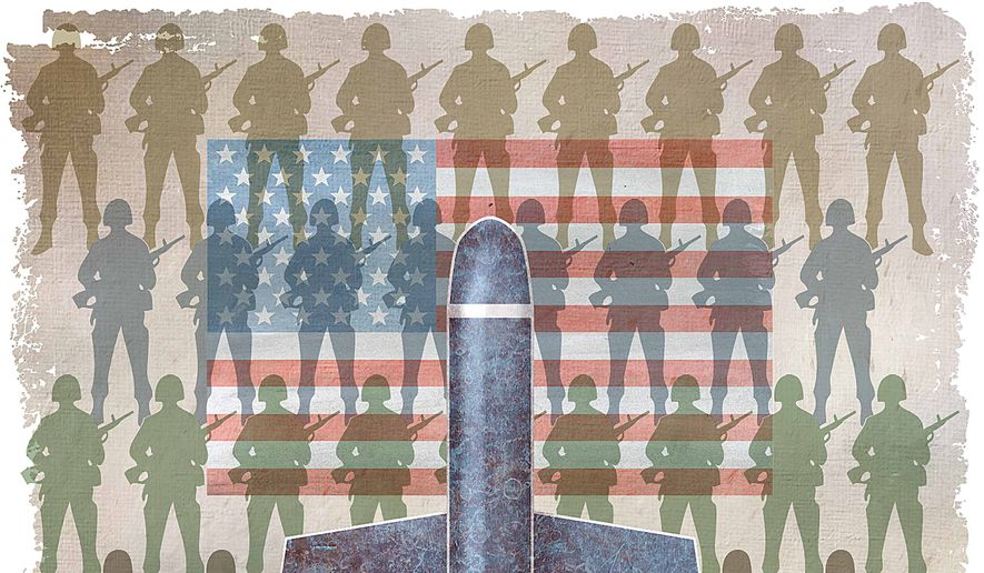 Tomahawk Soldier Protector Illustration by Greg Groesch/The Washington Times