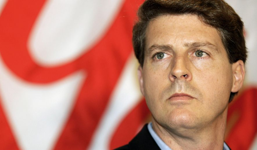 FILE - This Dec. 18, 2008 file photo shows New York Yankees co-chairman Hal Steinbrenner during a news conference in New York.  Sounding much like his late father, Yankees owner Hal Steinbrenner said his team's offense has to snap out of its funk and he's optimistic New York will return to the playoffs after a one-year absence, Wednesday, Aug. 13, 2014. (AP Photo/Kathy Willens, File)
