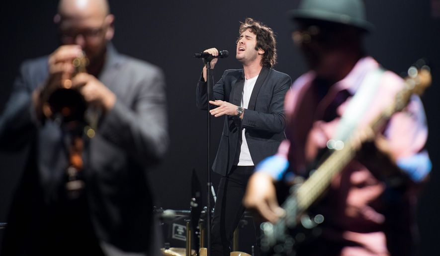 Multitalented singer-songwriter Josh Groban will perform with in concert with an orchestra at Wolf Trap National Park for the Performing Arts in Vienna on Tuesday and Wednesday. (Associated Press)