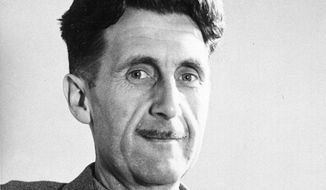 "This undated file photo shows writer George Orwell, author of ""1984."" (AP Photo, File)"