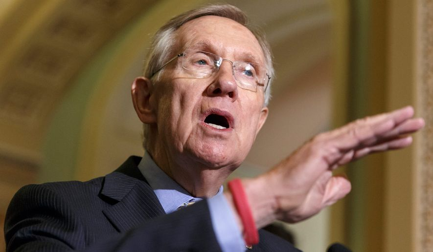 Senate Majority Leader Harry Reid. (Associated Press)