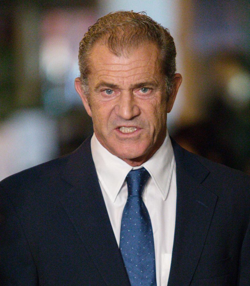 """1. Actor/director Mel Gibson married Robyn Moore in 1980, 26 years later, their divorce settlement is the largest in Hollywood history, an estimated $425 million. FILE-Mel Gibson arrives at the """"Stand Up For Gus"""" Benefit at Bootsy Bellows on Wednesday, Nov. 13, 2013 in West Hollywood, Calif. (Photo by Paul A. Hebert/Invision/AP)"""