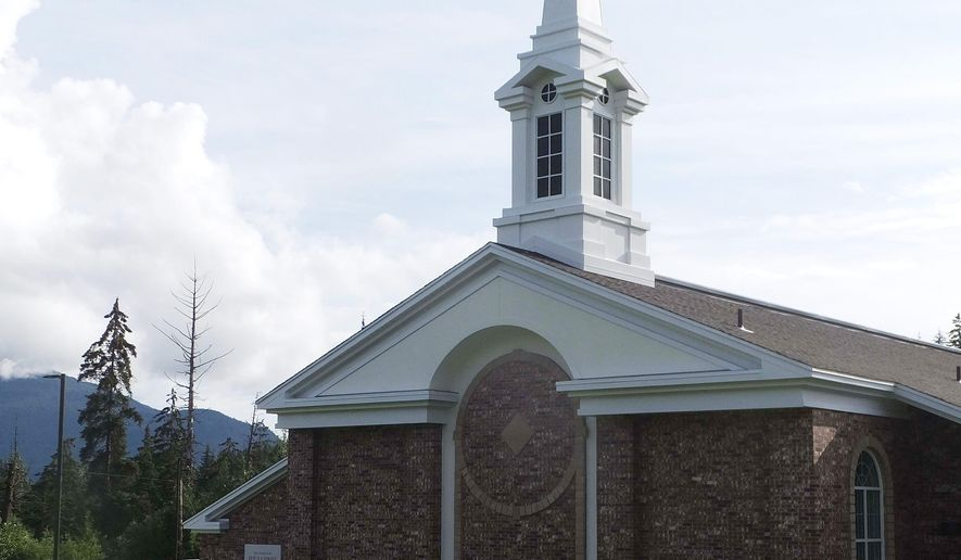 A Church of Jesus Christ of Latter-day Saints in Juneau, Alaska (AP Photo/Becky Bohrer)