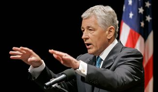 ** FILE ** Secretary of Defense Chuck Hagel. (Associated Press)