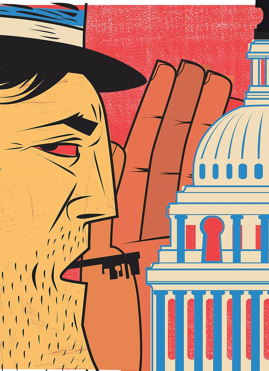 Government Insider Illustration by Linas Garsys/The Washington Times