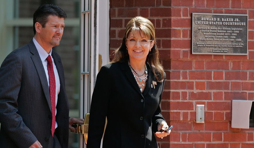 ** FILE ** Former Alaska governor Sarah Palin. (Associated Press)