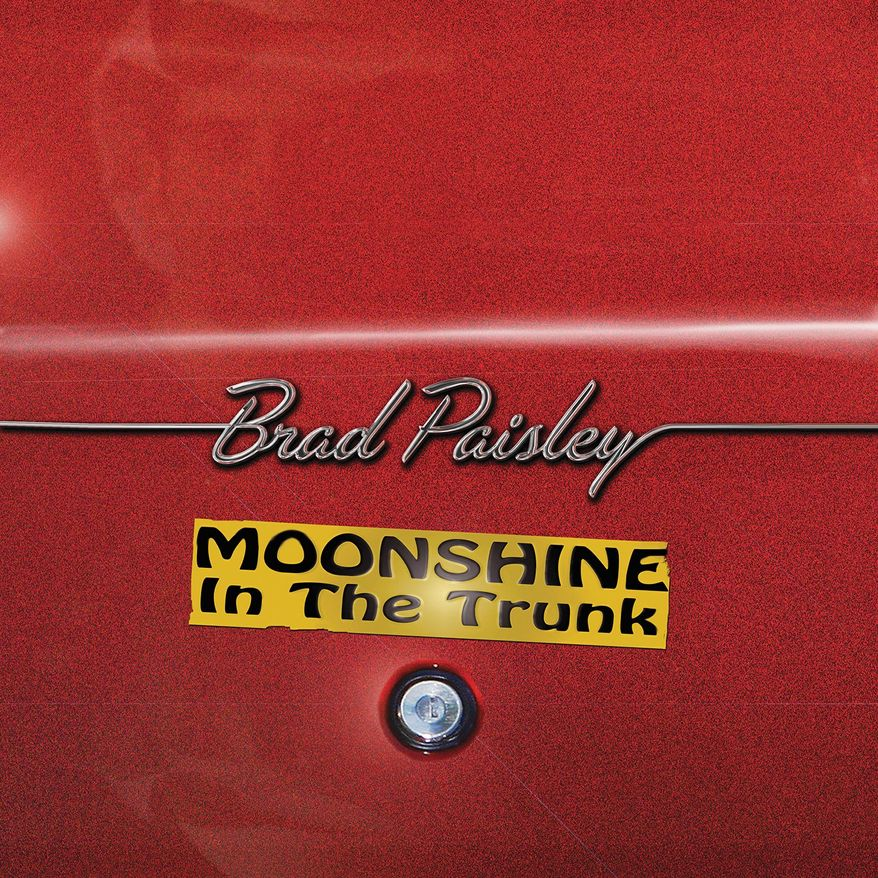 Brad Paisley 'Moonshine in the Trunk.'