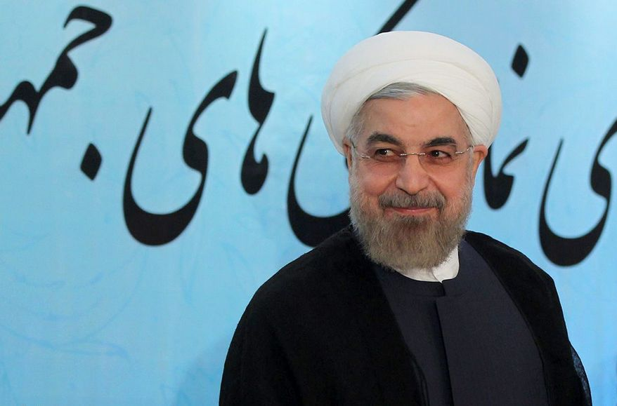Iranian President Hassan Rouhani is facing public calls by his countrymen to provide air defense to protect Hamas against Israeli forces conducting airstrikes. It remains unclear how much he is taking the comments to heart, sources say. (AP)