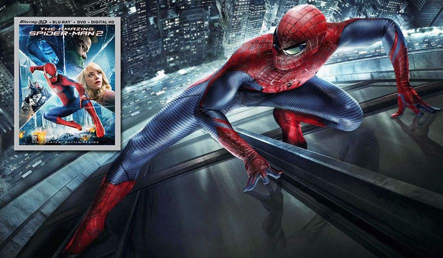 The Amazing Spider-Man 2 is now on Blu-ray.