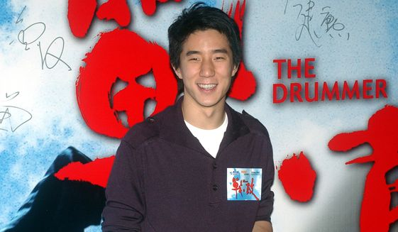"""In this Oct. 8, 2007, file photo, Hong Kong actor Jaycee Chan poses for photo upon arrival for """"The Drummer"""" premiere at Hong Kong Convention & Exhibition Centre. (AP Photo/Lo Sai Hung, File) ** FILE **"""