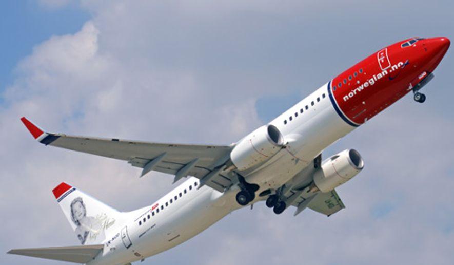 Courtesy of norwegian.com